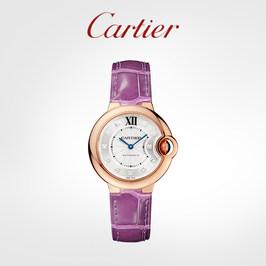 Cartier卡地亚Ballon Bleu蓝气球系列机械腕表 玫瑰金钻石手表