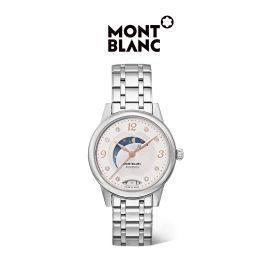 Montblanc/万宝龙官方正品Boheme宝曦系列女士钻石精钢机械腕表