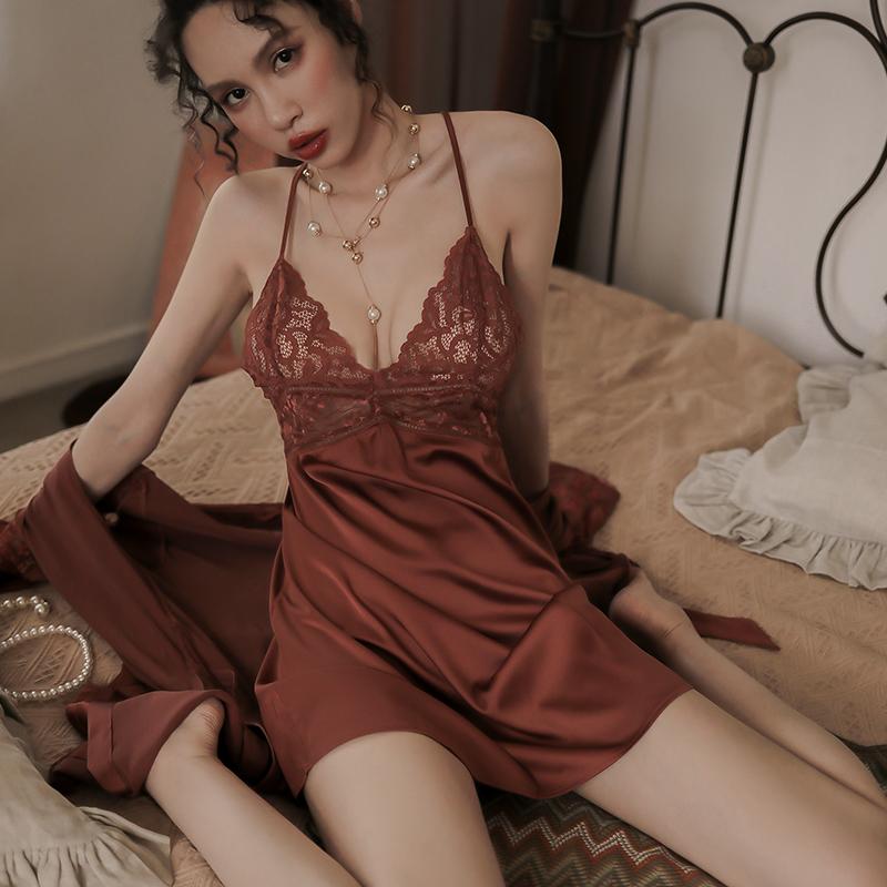 情趣内衣性感骚睡衣诱惑挑逗开裆免脱服装火辣激情床上套装超骚JS