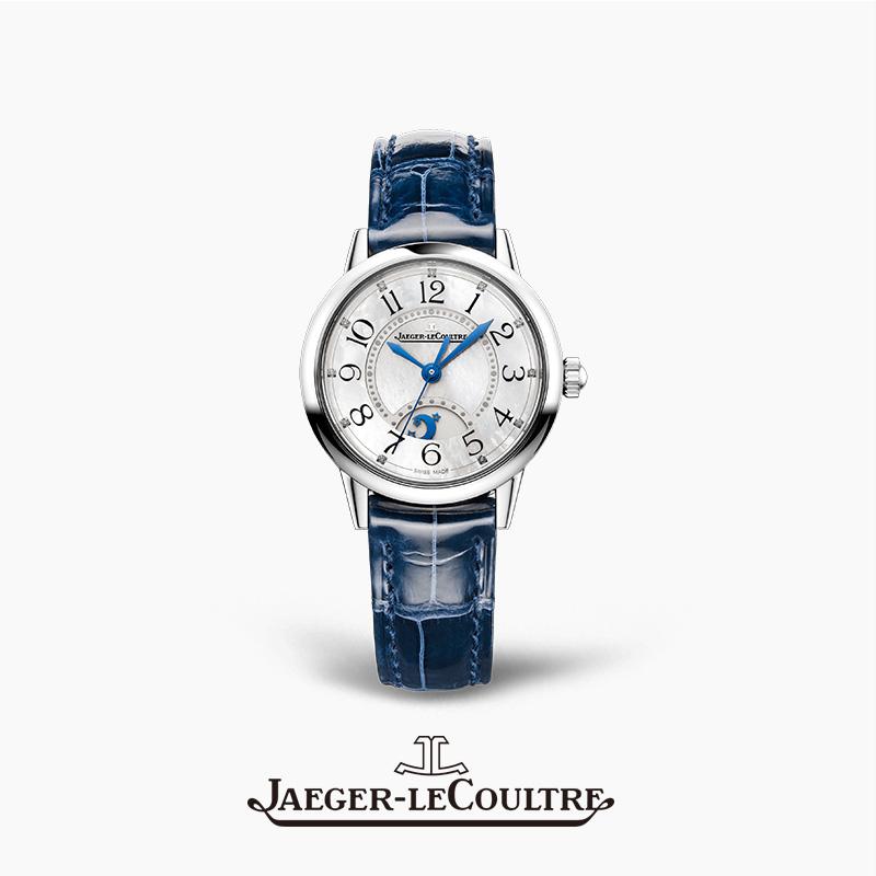 JAEGER-LECOULTRE积家约会系列腕表 精钢钻石自动机械女表 小型款