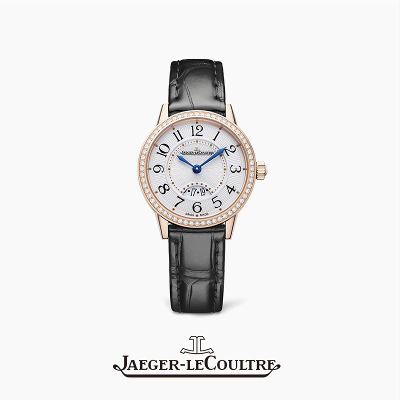 JAEGER-LECOULTRE积家约会系列日历腕表 玫瑰金钻石女表