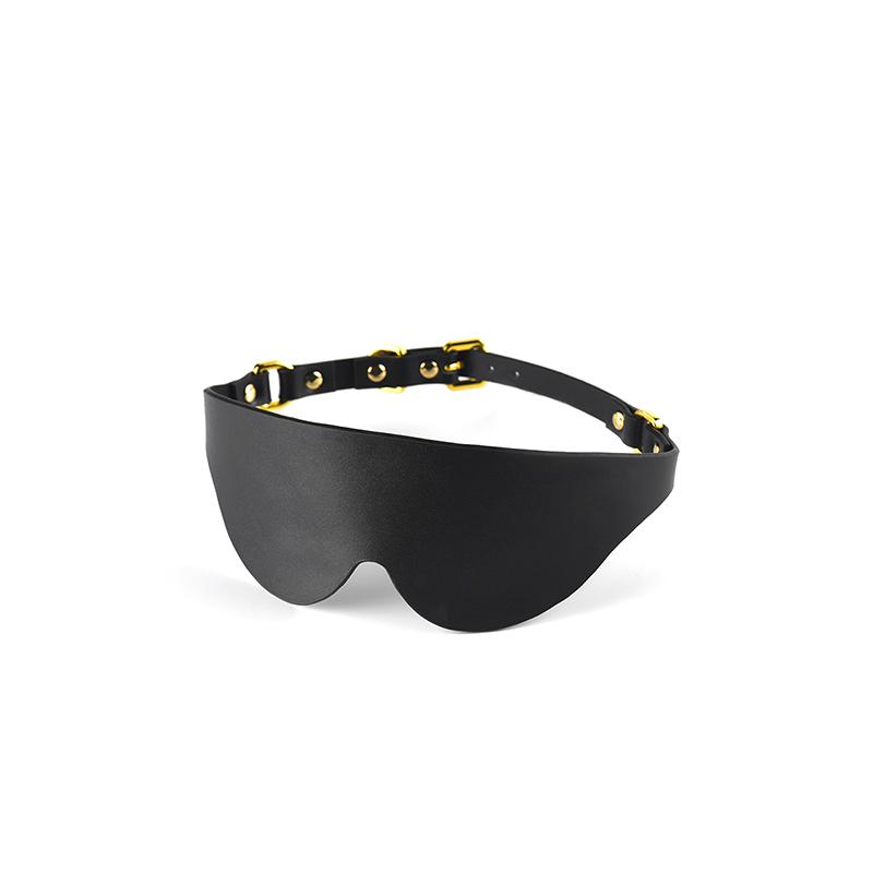 【UPKO】真皮眼罩进口高端SM捆绑调教玩具道具调情成人情趣用品