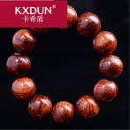 KXDUN/卡希盾包邮海越南老挝黄花梨手串2.0佛珠手链虎皮纹LYY0419