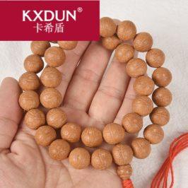 KXDUN/卡希盾尼泊尔凤眼菩提子文玩手持36颗佛珠项链籽式LYY0327